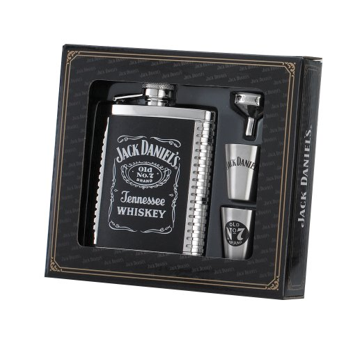 Jack Daniels Licensed Barware 8471 Label Gift Set, 6 oz./1 oz, -