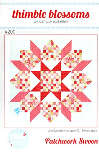 Patchwork Swoon Quilt Pattern, Jelly Roll 2.5