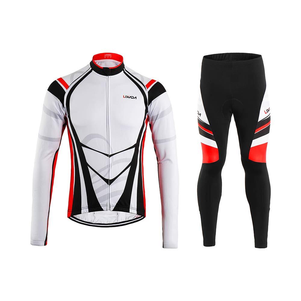 Chollo maillot y pantalones térmicos de invierno para ciclismo Lixada por 27,99 euros (Oferta FLASH) 1 pantalón interior ciclismo