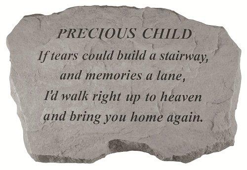 Precious Child Memorial Stone