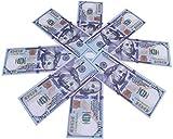 Movie Prop Money Full Print 2 Sided, Play Money One