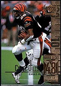 Football NFL 1999 Upper Deck Century Legends #98 Corey Dillon Bengals