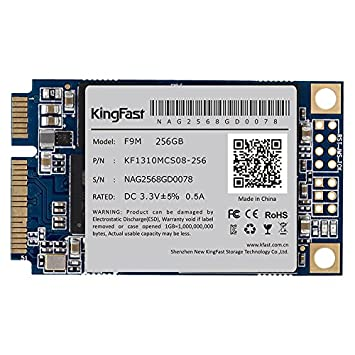 KingFast F9M, disco duro interno SSD 256GB 256Go 256 Go mSATA 3.0 ...