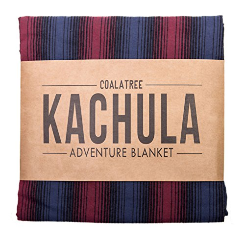 Coalatree Red Kachula Adventure Blanket V2- Packable, multi-use blanket ideal for traveling, camping and urban use by Coalatree