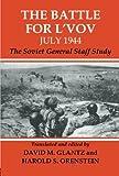 The Battle for l'Vov July 1944, Glantz, 0415449391