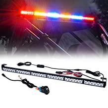 """Xprite 36"""" Rear Chase LED Light Bars, All in One w/Strobe Brake Reverse Light for RZR, ATVs, UTVs,Side by Sides and Off Road Vehicles - RYBYBR"""