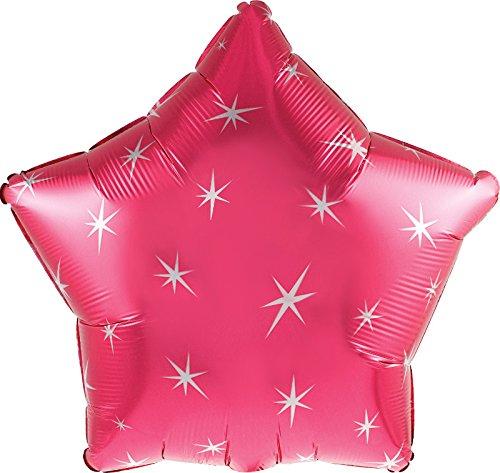 Pink Mylar Balloon - 9