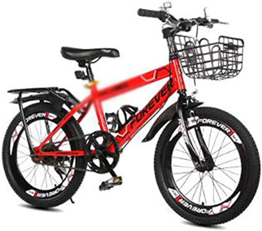 DT Bicicleta para niños 6-7-8-9-10-11-12 años Carro de bebé Chica Niño Escuela Primaria Bicicleta de Estudiante (Color : Red, Tamaño : 14 Inches): Amazon.es: Hogar