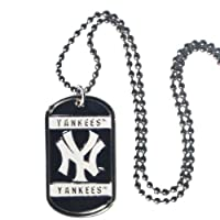 MLB New York Yankees Neck Tag Necklace