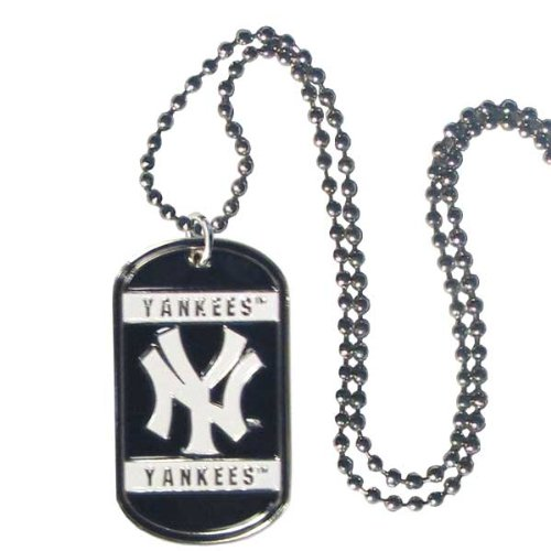 New York Yankees Necklace (MLB New York Yankees Neck Tag Necklace)