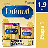 Fórmula Láctea Infantil, Enfamil Premium Etapa 1 para Bebés de 0 a 6 meses, Paquete de 1.9 kg