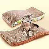 2016 Soft Corrugated Paper Durable Double-Sided Pet Cat Kitten Scratch Scratcher Seize Catch Board Pad Mat Catnip Bed Toy