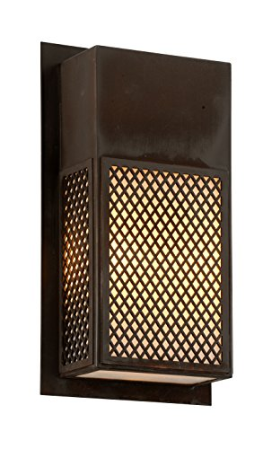 Troy Lighting B6573NR Ibiza Outdoor Wall Sconce, Natural Rust (Natural Rust Troy Lighting)