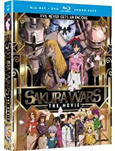 Sakura Wars: Movie [Blu-ray/DVD Combo] [Importado]
