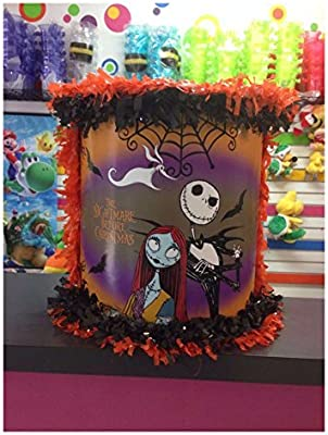 the nightmare before christmas happy birthday party supplies piata pinata jack - Nightmare Before Christmas Happy Birthday