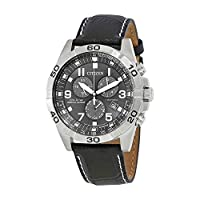 Deals on Citizen Brycen Chronograph Black Dial Mens Watch