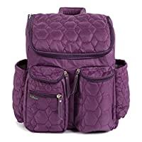 Wallaroo Diaper Bag Backpack with Stroller Straps, Wet Bag and Diaper Changin...