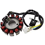TC-Motor 12 Coils Poles Ignition Stator Magneto Rotor For GY6 125cc 150cc Engine Parts Chinese Moped Scooter Go Kart ATV Quad 4 Wheeler