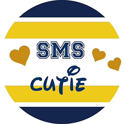 SMS Cutie Pendant Necklace or Keychain Spirit Wear Cheerleader