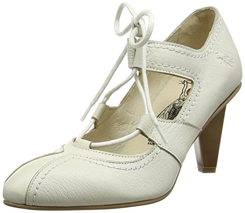White Ava984fly Con Fly off Scarpe Bianco 004 London Tacco Donna axqwt8qS