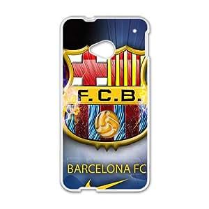 FCB White htc m7 case