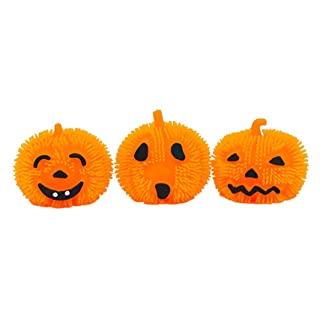 Halloween Toys - Light up Roysberry Pumpkin Stress Toys Scary Halloween Toy Squeeze Toy Party Toys - Birthday Gift Halloween Toy Jigsaw Puzzles for Kids Ages 4-8