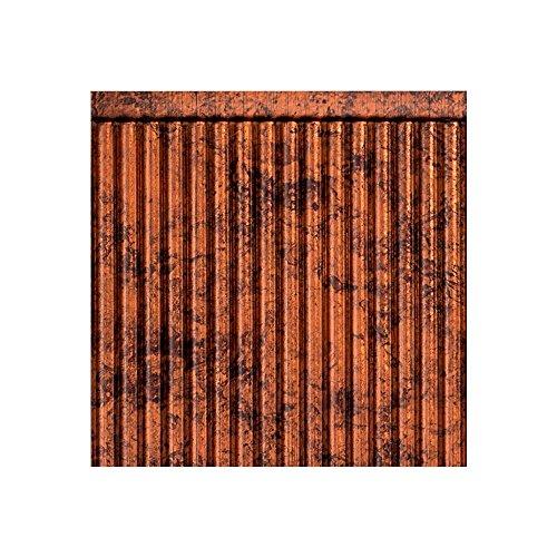 Fasade Easy Installation Rib Moonstone Copper Backsplash Panel for Kitchen and Bathrooms (18