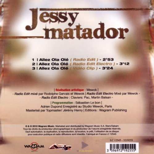 JESSY ALLEZ TÉLÉCHARGER OL MATADOR OLA