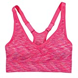 Coobie Fusion Racerback Yoga Bra (One Size, Crushed Berry)