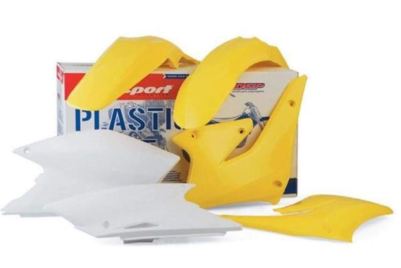 Polisport Plastics Kit Yellow for Suzuki RM65 RM 65 03-05