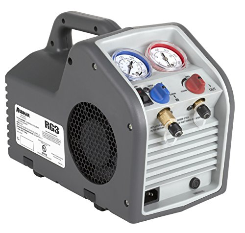 Robinair RG3 Twin-Cylinder Portable Refrigerant Recovery Machine - 115V AC, 60 Hz