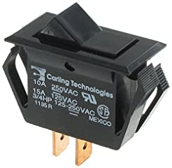 Rocker Switches SPST ON-NONE-OFF BLK (1 ...