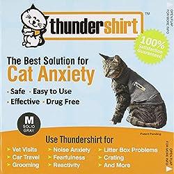 Medium, Comfortable Fit Cats Thundershirt, 9-13 Lbs