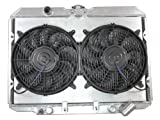 Radiator Radiator Shroud Fan For Mitsubishi Starion Chrysler Dodge Plymouth Conquest