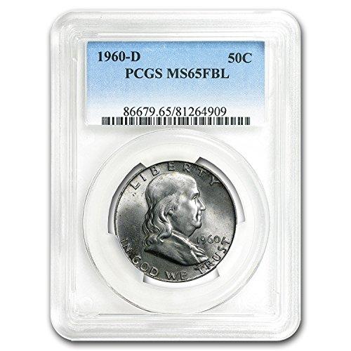 1960 D Franklin Half Dollar MS-65 PCGS (FBL) Half Dollar MS-65 PCGS