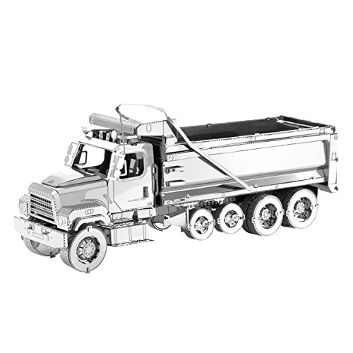 (Fascinations Metal Earth Freightliner Dump Truck 3D Metal Model Kit)
