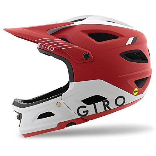 Giro Switchblade MIPS Cycling Helmet - Matte Dark Red (Green Blade Helmet)