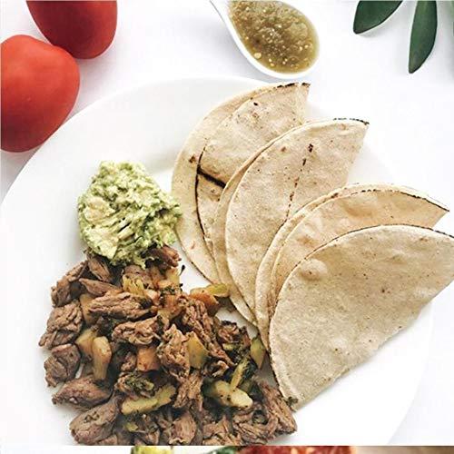 Corn and Nopal Tortillas