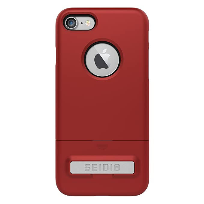 the latest 2c7d4 fa5c7 Seido Surface Case for Apple iPhone 7 - Dark Red/Black