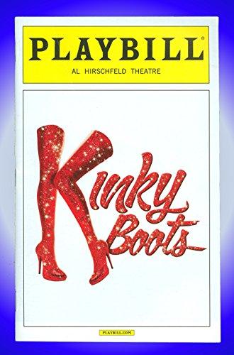 Crimped Boots, Broadway playbill + Billy Porter, Annaleigh Ashford, Stark Sands, Daniel Stewart Sherman