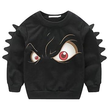 90632aff91d6e1 Amazon.com  Cute Fall Shirt Tops For Kids Baby Boy