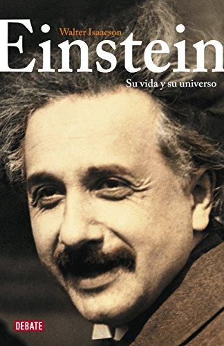 Portada del libro Einstein: Su vida y su universo de Walter Isaacson