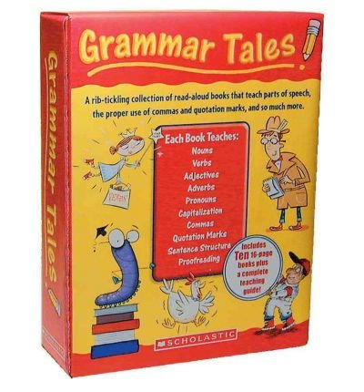 [(Grammar Tales Box Set: A Rib-Tickling Collection of Read-Aloud Books That Teach 10 Essential Rules of Usage and Mechanics )] [Author: Inc. Scholastic] (Grammar Tales Box Set)