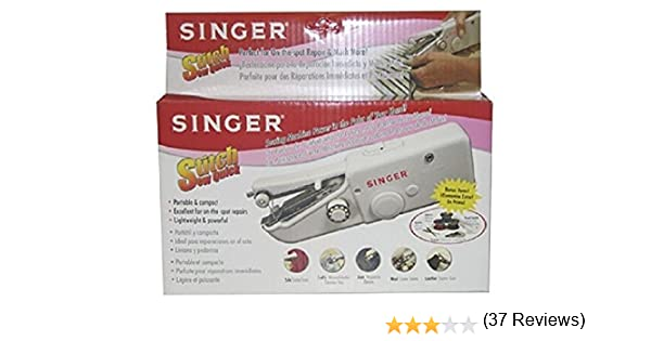 Amazoncom Singer Stitch Sew Quick Hand Held Sewing Machine - Singer kitchen equipment