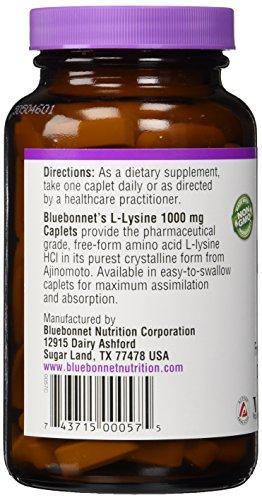 BlueBonnet L Lysine 1000 mg Capsules