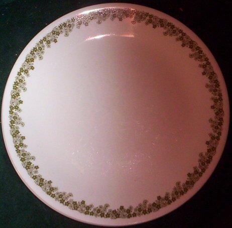 Spring Blossom Green (Crazy Daisy) 3 Piece Set; Bread Plates