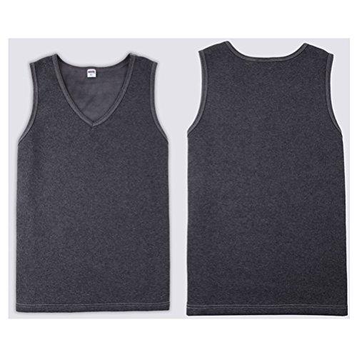 14ca63c71d5 Zhhlaixing Ropa de dormir para hombre Mens Fleece Lined Warm Hot Outdoor  Work Winter Thermal Underwear