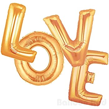Amazoncom helium foil letters balloons birthday for Foil letter balloons amazon