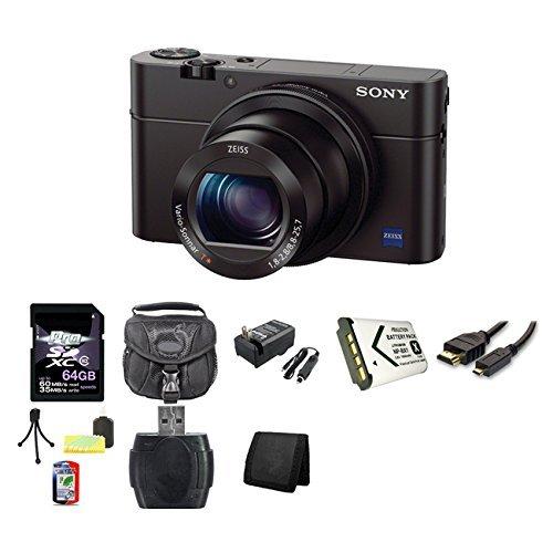 Sony Cyber-Shot DSC-RX100M III Digital Camera DSCRX100M3 RX100 (International Model) 64GB Bundle Review