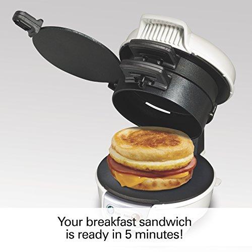 Proctor Silex 25479 Breakfast Sandwich Maker, White by Proctor Silex (Image #4)